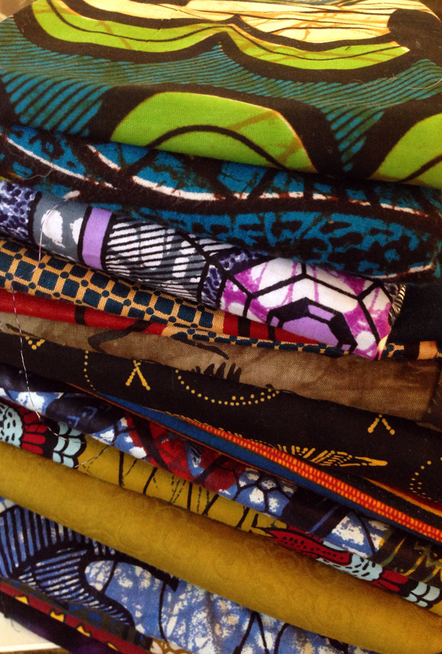 African Fabric Stash