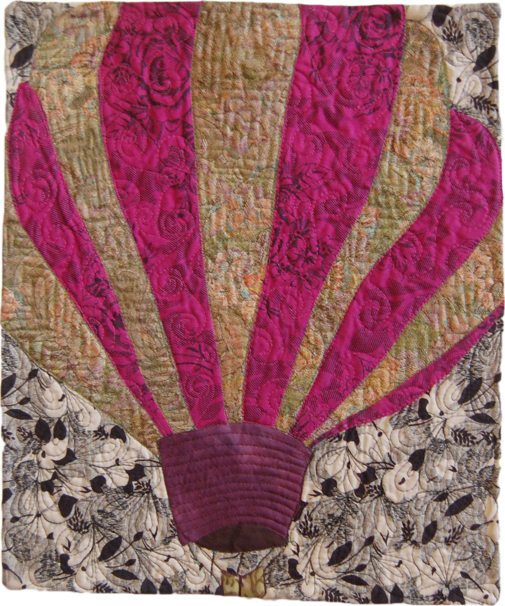 Hot Air Balloon Art Quilt