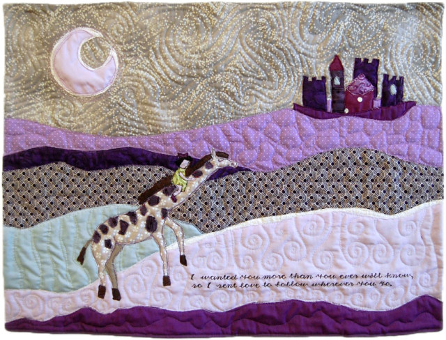 Purple Story Nursery Quilt