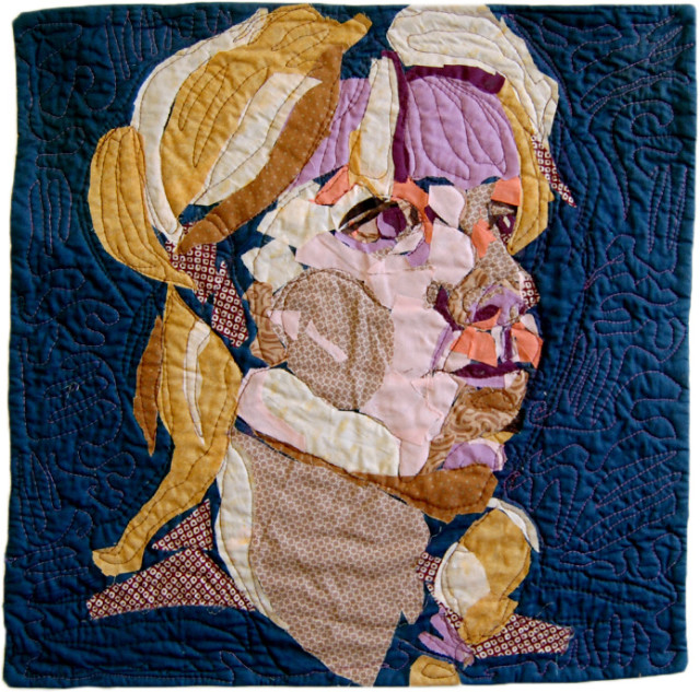 Fangs Art Quilt