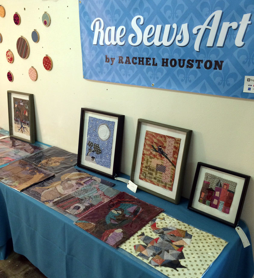 Rae Sews Art Dutchtown Booth